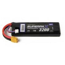 Radient LiPo 2S 3200mAh 7.4V 30C XT60 RDNB32002S30XT60