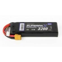 Radient LiPo 3S 3200mAh 11.1V 30C XT60  RDNB32003S30XT60