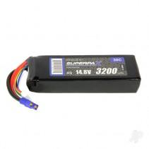 Radient LiPo 4S 3200mAh 14.8V 30C EC3 Battery RDNB32004S30