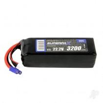 Radient LiPo 6S 3200mAh 22.2V 30C EC3