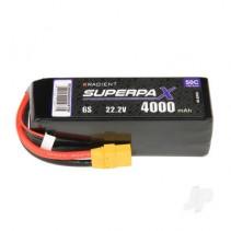 Radient 6S 4000MAH 22.2V 50C XT90 LIPO RDNB40006S50XT90
