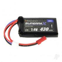 Radient LiPo 2S 430mAh 7.4V 20C JST RDNB4302SJ