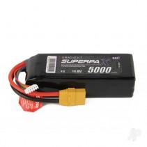 Radient LiPo 4S 5000mAh 14.8V 50C XT90 RDNB50004S50XT90