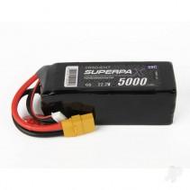 Radient LiPo 6S 5000mAh 22.2V 35C XT90 RDNB50006S35X
