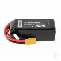 Radient LiPo 6S 5000mAh 22.2V 50C XT90  RDNB50006S50CXT90