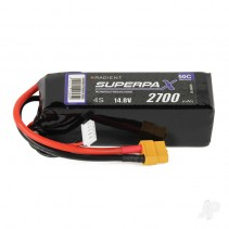 Radient LiPo 4S 2700mAh 14.8V 50C (XT60) RDNBS2700S4C50