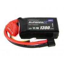Radient LiPo Battery 2S 1300mAh 7.4V 20C EC2  RDNB13002S20