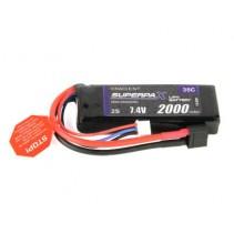 Radient LiPo 2S 2000mAh 7.4V 35C HCT RDNL20002