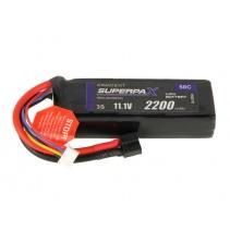 Radient LiPo 3S 2200mAh 11.1V 50C HCT RDNL22003S50H