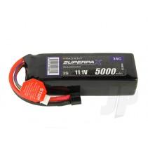 Radient LiPo 3S 5000mAh 11.1V 35C HCT RDNL50003S35H