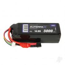 Radient LiPo 4S 5000mAh 14.8V 35C HCT Battery RDNL50004S35H