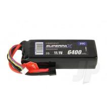 Radient LiPo 3S 6400mAh 11.1V 25C HCT RDNL64003S25H