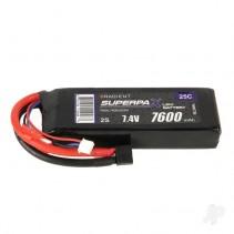 Radient LiPo 2S 7600mAh 7.4V 25C HCT RDNL76002S25H