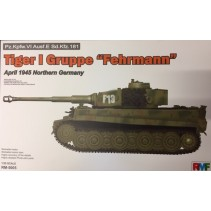 Ryefield Model Tiger I Gruppe Fehrmann April 1945 N.Germany RM5005