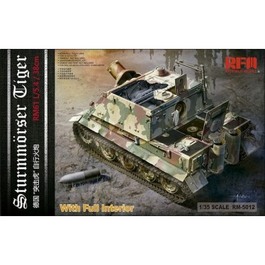 Ryefield Sturmtiger with full Interior RM5012