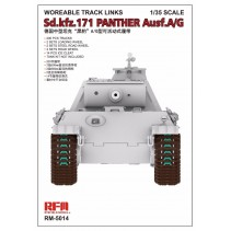 Ryefield Workable Tracks for Panther Ausf.A/G RM5014