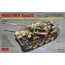 Ryefield Model Panther Ausf.G with Full Interior & Cut Away Parts RM5019