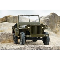 Roc Hobby Willys Military Scaler RTR 1/6 ROC001RS