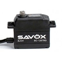 Savox SAV-SC1267SGB HV Black Edition Standard Digital Servo 21Kg@7.4V (LiPo)