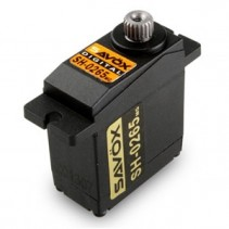 SAVOX MICRO SIZE DIGITAL SERVO 2.4KG@6V 0.075sec HELI/PARKFLY SAV-SH0265MG