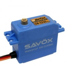 SAVOX WATERPROOF 'HIGH VOLTAGE' DIGITAL SERVO 8KG/0.13s@7.4V  SAV-SW0230MG