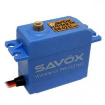 SAVOX WATERPROOF 'HIGH VOLTAGE' DIGITAL SERVO 15KG/0.17s@6V SAV-SW0231MG