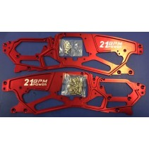 GPM Racing Alloy 4.75mm Chassis 1 pair SAV1014V