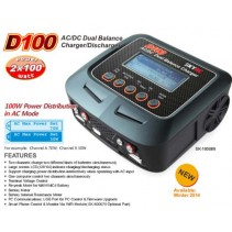 Schumacher D100 Charger (2x100W) with Power Dist in AC Mode SK-100089