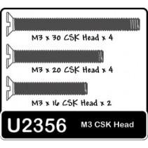 SPEED PACK - M3x16-30 Csk Screws (pk12)