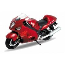 SUZUKI HAYABUSA Motorcycle Scale 1/18 Diecast