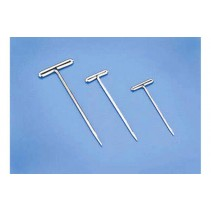 Du-Bro T-Pins 1in/25.4mm Niclkel Plated x 100 DB252