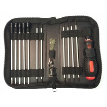 Tool Set - 19 Pieces in zipped wallet T-LG010