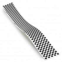 MonoKote Trim Black/White Checkerboard T-TOPQ4113