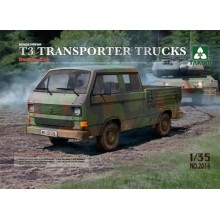 Takm TAK02014 VW T3 Transporter Pick-up Truck/Crew cab 1/35