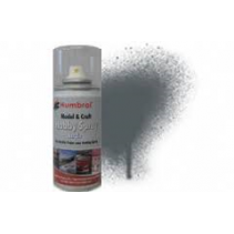 Humbrol 67 Tank Grey Matt - 150ml Acrylic Spray Paint
