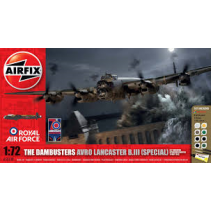 Airfix A50138 The Dambusters AVRO Lancaster B.III (Special) Gift Set 1/72