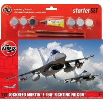 Airfix Lockheed Martin F-16A Fighting Falcon Gift Set A55312