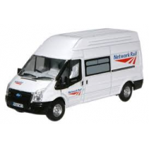 Ford Transit Network Rail 1/76 Oxford Diecast