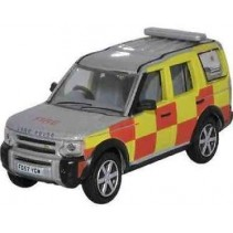 Notts Fire and Rescue Land Rover 1/76 Oxford Diecast