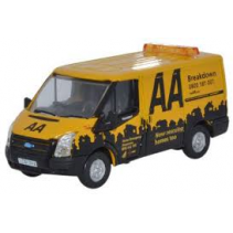 Ford Transit SWB Low Roof AA 1/76 Oxford Diecast