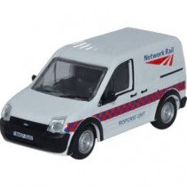 Ford Transit Connect Network Rail 1/76 Oxford Diecast