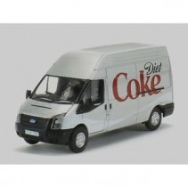 Ford Transit LWB High Roof Diet Coke Ford Transit 1/76 Oxford Diecast