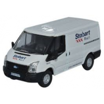 Ford Transit SWB Low Roof Stobart 1/76 Oxford Diecast