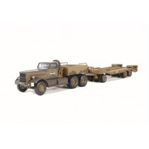 Oxford Diecast Diamond T980 Tank Transporter 1st Can Arm Italy 1943 1/76