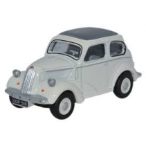 Ford Popular 103E Ermine White 1/76 Oxford Diecast