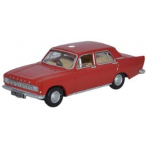 Ford Zephyr Monaco Red 1/76 Oxford Diecast