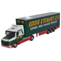 Oxford Diecast Eddie Stobart T Cab Curtainside 1/76