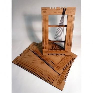 Ratliner Scale Rope Ladder Making Tool MS7201 1:76-1:90