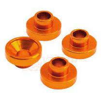 Servo Washer 4.3mm Orange