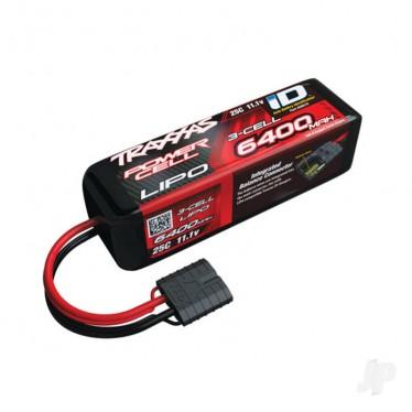 Traxxas 6400mAh 11.1V 3S 25C iD Power Cell LiPo Battery TRX2857X